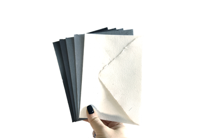 Hand Made envelopes Black&White Collection