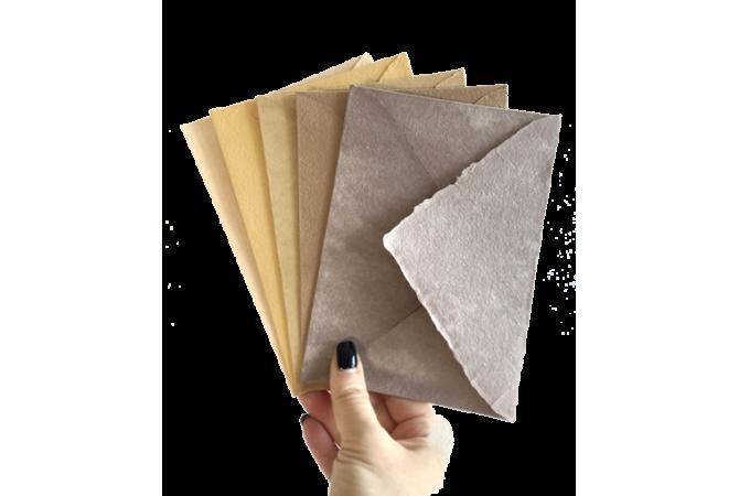 Hand Made envelopes Sahara Collection
