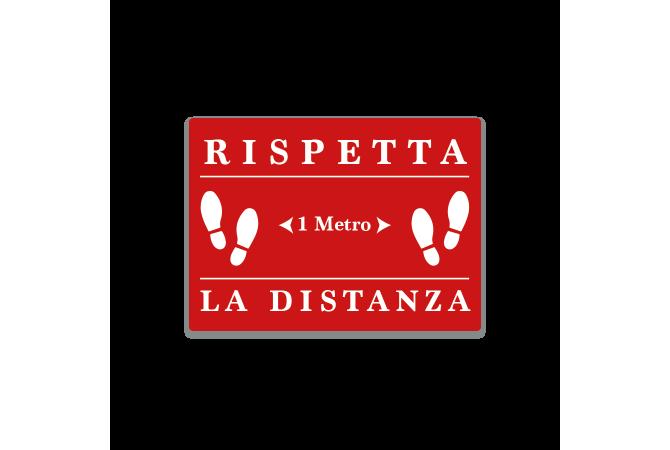 Keep Distance Sticker