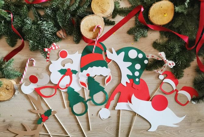 Photo Booth Christmas