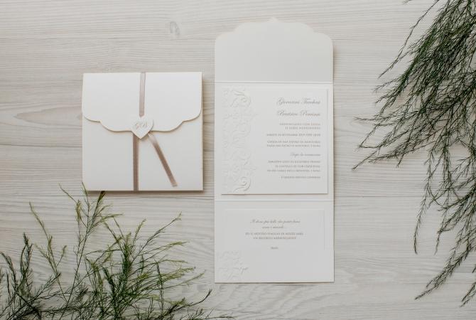Wedding Invitation Precious Elegance