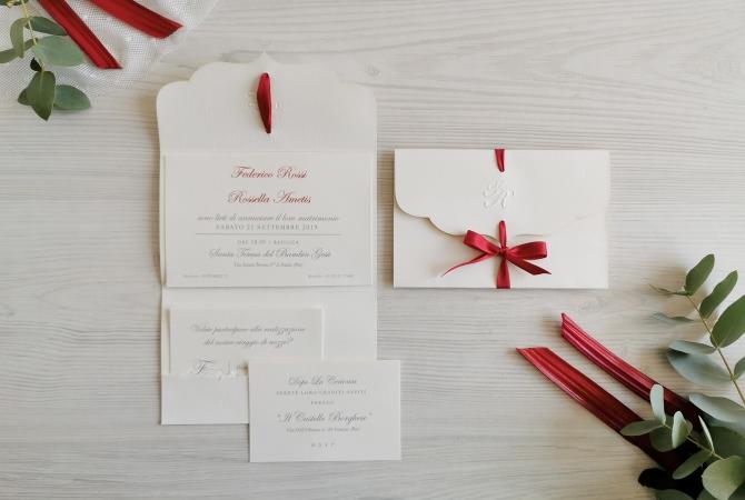 Wedding invitation Amalfi my Love