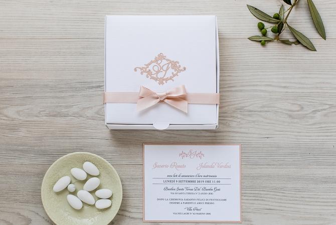 Wedding invitation Cadeaux D'Amour
