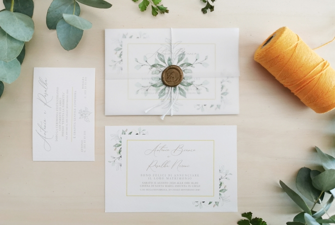 Wedding Invitation Herbe