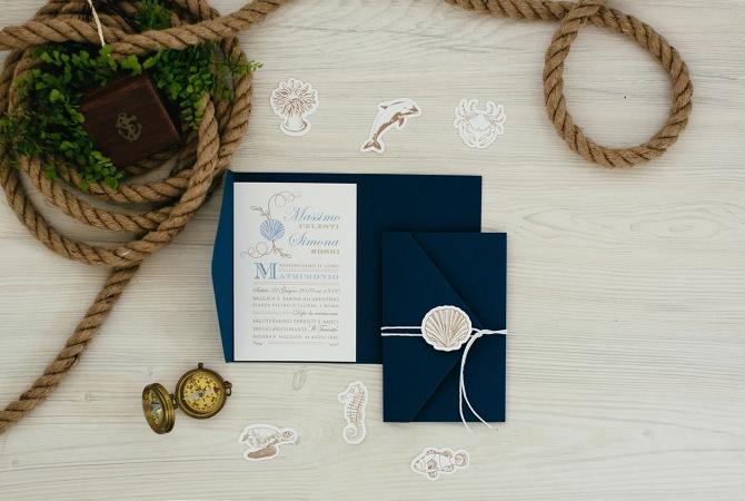 Wedding Invitation Vintage Love Boat