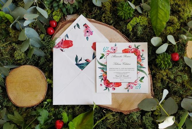 Wedding invitation Cherry Season