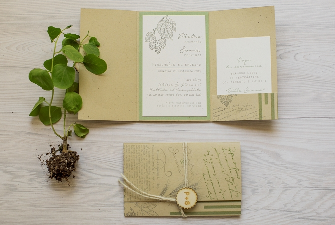 Wedding Invitation Florilegium