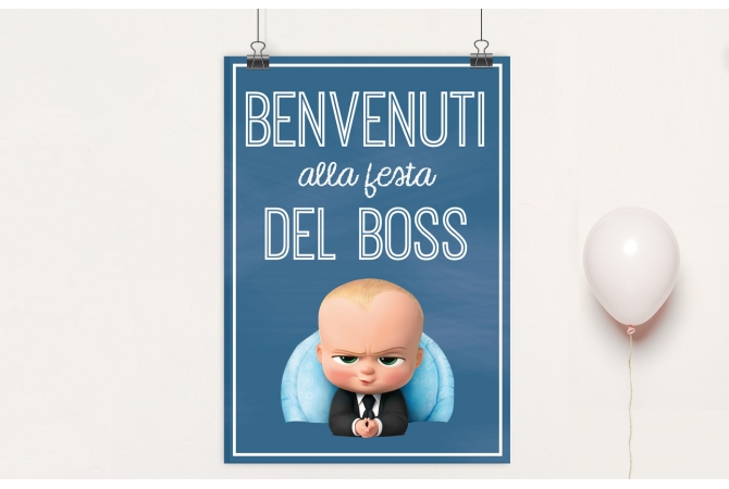 Backdrop Baby Boss