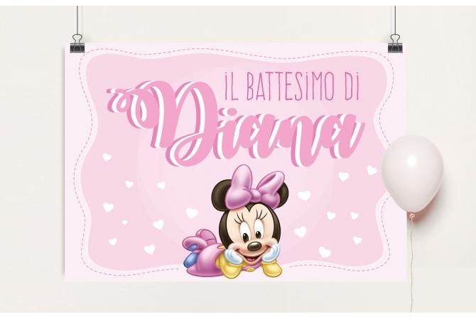 Backdrop Minnie
