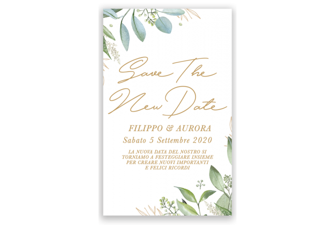 Save the New Floral Date