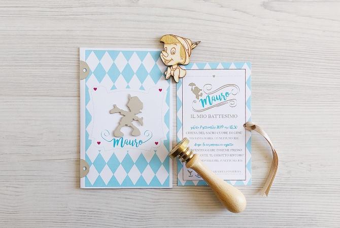 Invitation Pinocchio